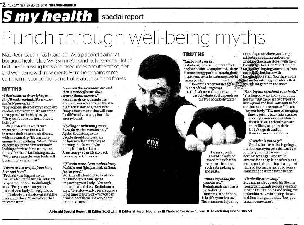 Punch Through Well-being Myths