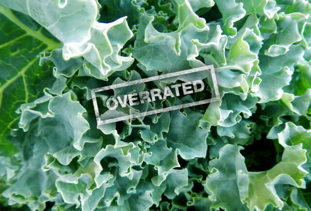 Kale and other so-called Superfoods