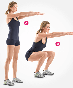 Squats – the best way to a better butt