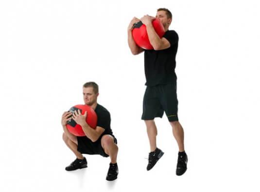Quick Medicine Ball Workout