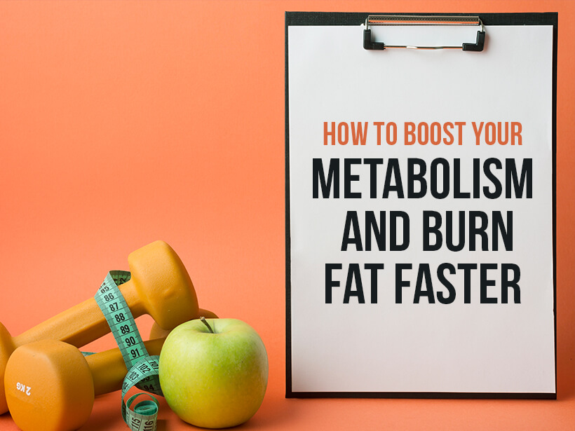 3 Ways to BOOST Your metabolism