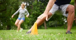 Outdoor + Zoom Group Training